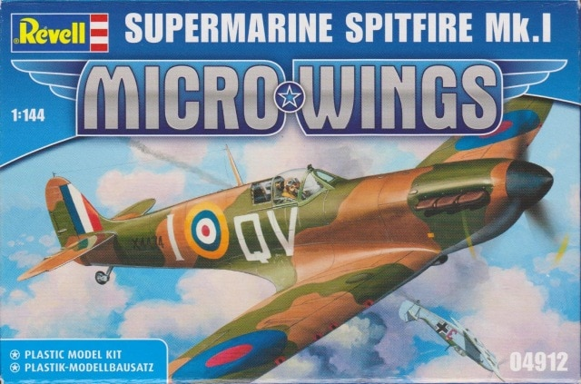 Revell Mini Spitfire Mk. 1 Model 1:144