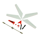 Syma 107 Helicopter Crash Kit - Red