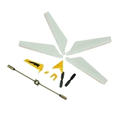 Syma 107 Helicopter Crash Kit - Yellow