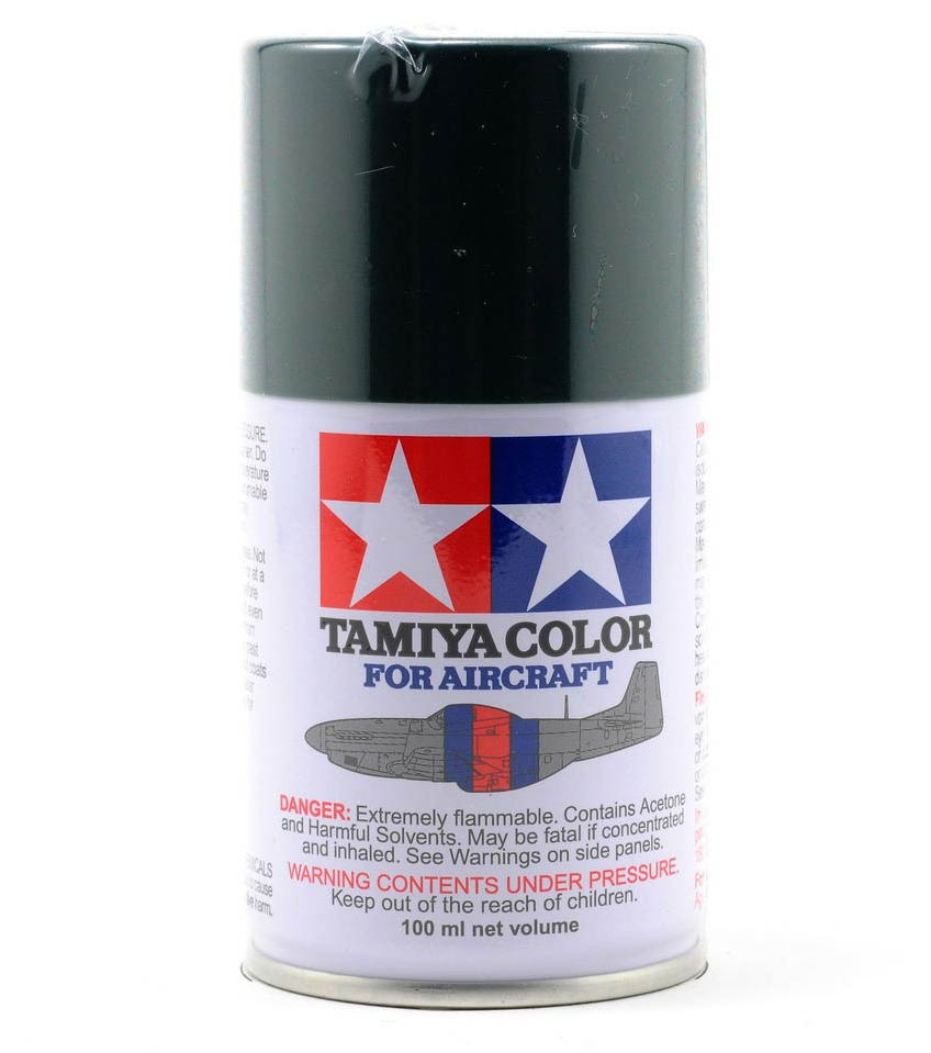 Tamiya Aircraft Spray AS-1 Dark Green