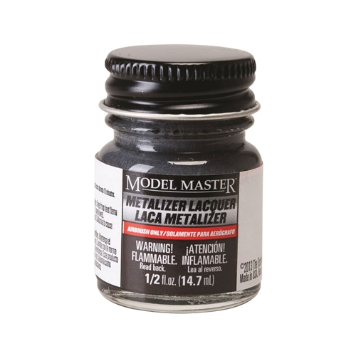 Testors Dark Anodonic Gray Buffing Metalizer