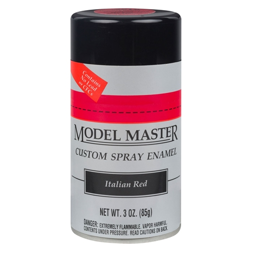 MM Car Spray Italian Red by Testor Corp.