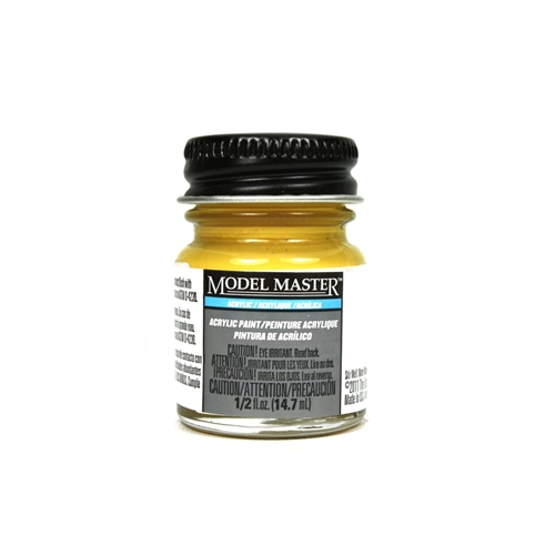 Model Master Acrylic Semi-Gloss 1/2oz Yellow