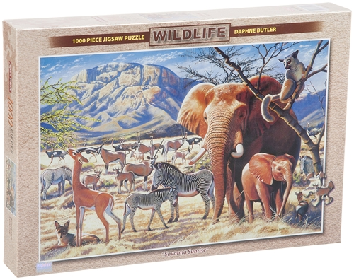 Savanna Sunrise Puzzle 1000pc