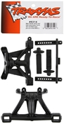 Traxxas 5314 Front & Rear Body Mounts with Posts & Pins