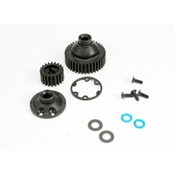 Traxxas 5579 Differential Gear, Side Cover, Gasket, & Output Gear Seals