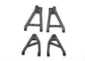 Rear Suspension Arm Set: 1/16 SLH by Traxxas