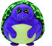 Ty Beanie Ballz - Tiki Purple Turtle