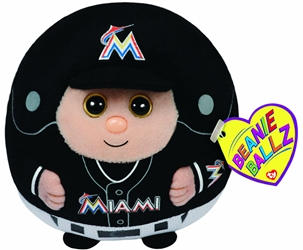 Ty Beanie Sports Ballz - Miami Marlins