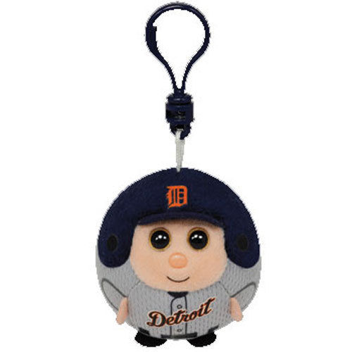 Ty Beanie Sports Ballz Clip - Detroit Tigers