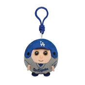 Ty Beanie Sports Ballz Clip - LA Dodgers