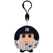 Ty Beanie Sports Ballz Clip - New York Yankees