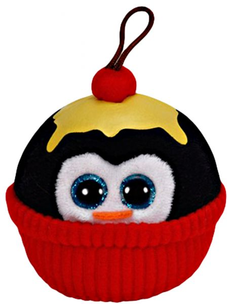 Ty Penguin Ornament/ Vanilla icing