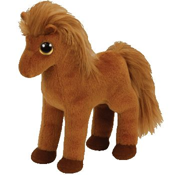 Ty Beanie Baby - Gallops Brown horse