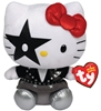 Ty Beanie Baby - KISS Starchild Hello Kitty