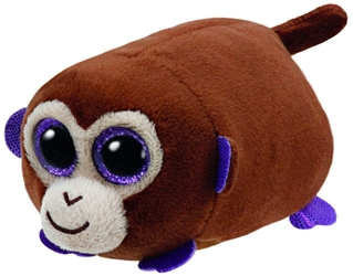 TY Teeny Tys - Monkey Boo the Brown Monkey