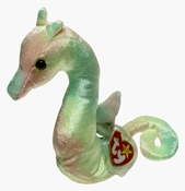 Ty Beanie Baby - Neon the Tie Dye Seahorse