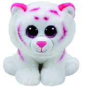 TY Classic - Tabor the Pink and White Tiger (Medium)