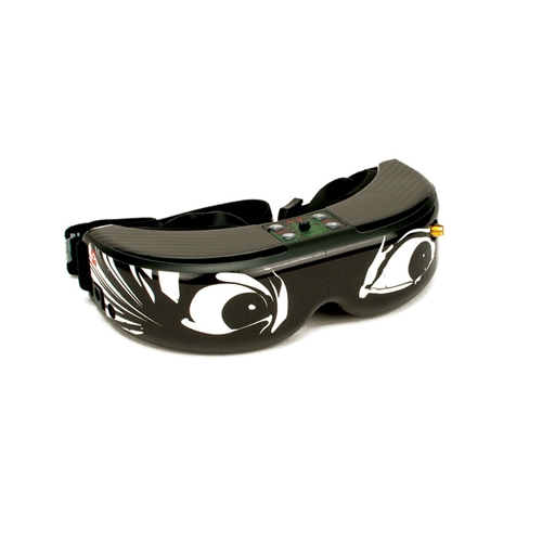 Upgrade FPV Goggle Skin Crazy Eyes