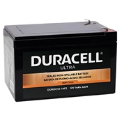 Duracell Ultra 12V SLA Sealed Lead Acid 14AH Deep Cycle AGM Battery with F2 Terminals