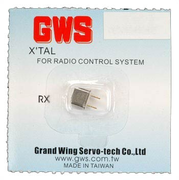 GWS Receiver Crystal channel 83 UM-1 75.850 Mhz
