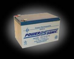 Powersonic PS-12120 F2 SLA 12V 12.0Ah Battery