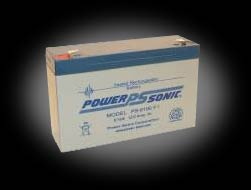 Powersonic PS-6100 F1 SLA 6V 12.0Ah Battery