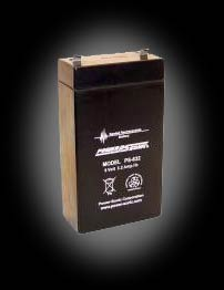 Powersonic PS-632 SLA 6V 3.5Ah Battery