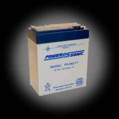 Powersonic PS-682 F1 SLA 6V 9.0Ah Battery