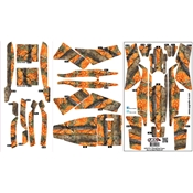 Upgrade 350 QX2 AP Hyper Skin: Hunter Orange Camo