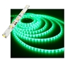 Self-Adhesive Waterproof 2 inch 3 Lights LED Light Strip - Green